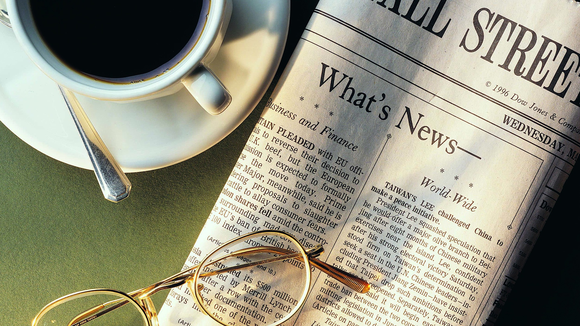 coffee-coffee-cups-morning-newspapers-objects