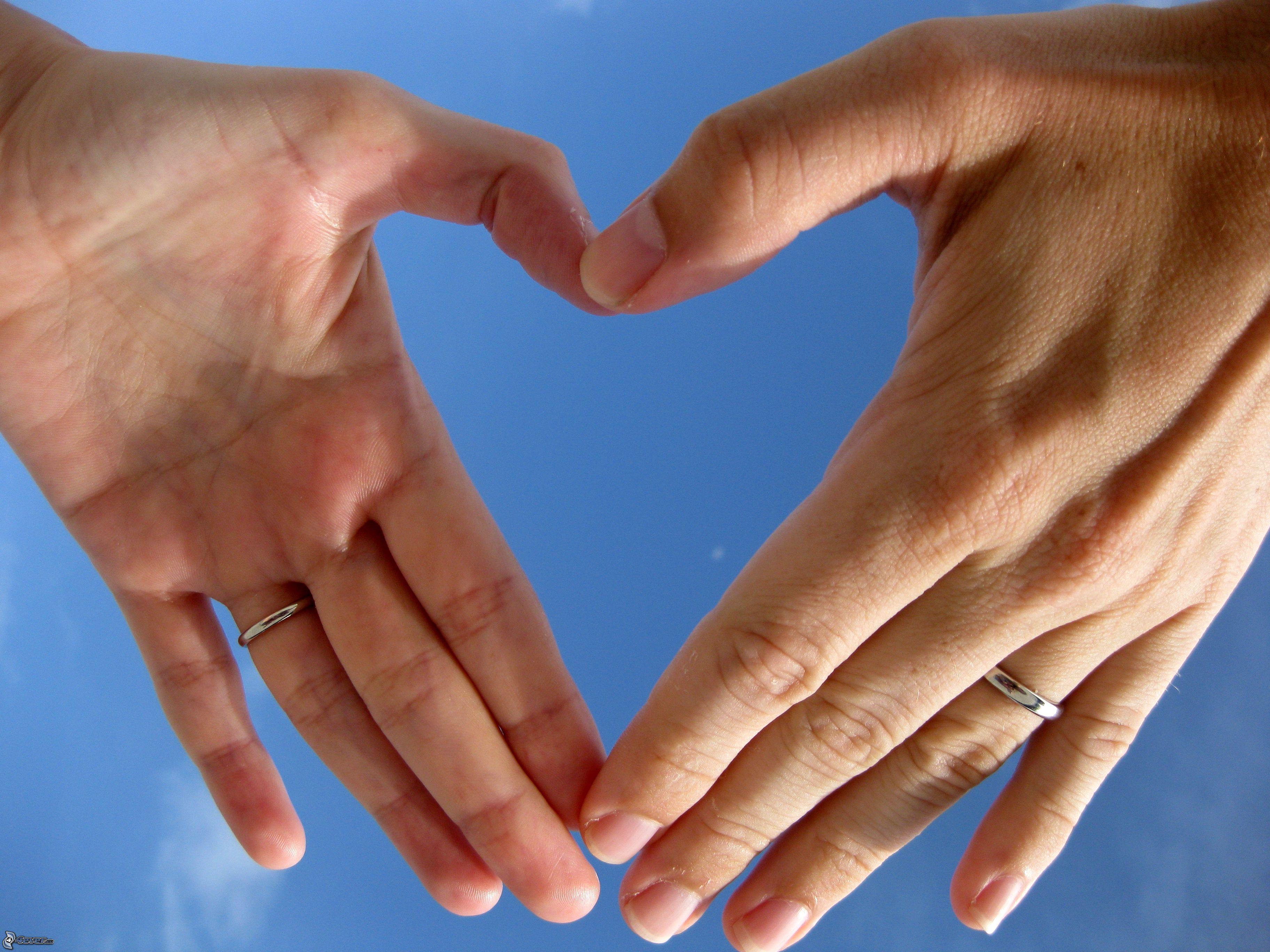 ruky v tvare srdca, obrucky 153357